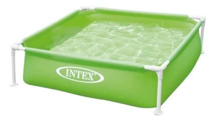 Каркасный бассейн Intex 57172, Mini Frame 122х122х30см, 337л