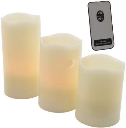 Свеча светодиодная Kaemingk Рассвет 3 шт 894166