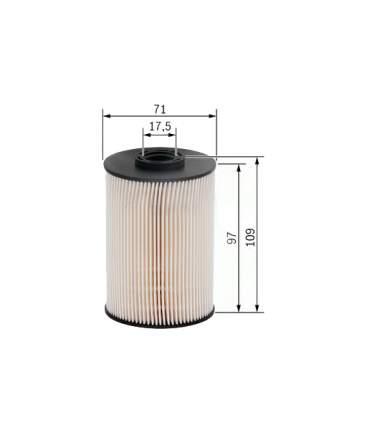 Фильтр топливный BOSCH F026402005
