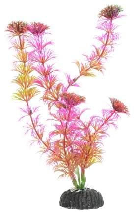 Искусственное растение для аквариума DEZZIE , розовый, красный, пластик, 20см