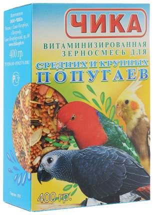 Основной корм Чика для попугаев 400 г, 1 шт