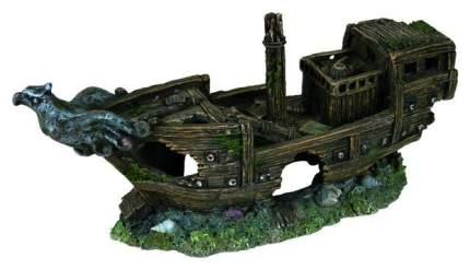Грот для аквариума TRIXIE Shipwreck M Обломки корабля 32 см, полиэфирная смола, 11х32х16см