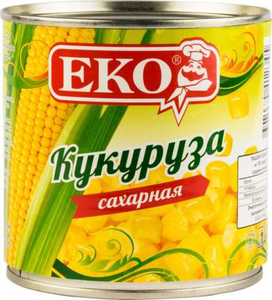 Кукуруза Еко сахарная 340 г