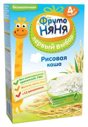 Каша безмолочная ФрутоНяня Рисовая с 4 мес. 200 г