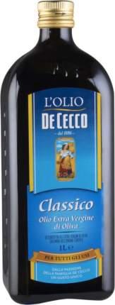 Масло оливковое нерафинированное De Cecco classico extra virgin 1 л