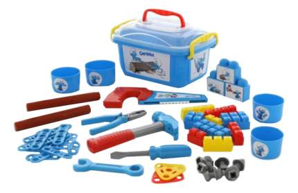 Набор игрушечных инструментов Полесье Смурфик Мастер