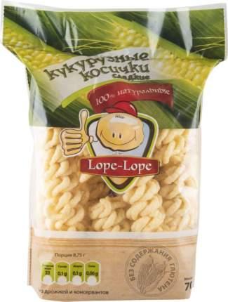 Кукурузные косички Lope-Lope  сладкие 70 г