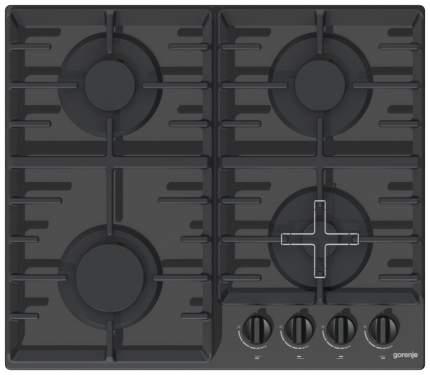 Встраиваемая варочная панель газовая Gorenje GT641 ZB Black