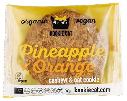 Печенье Ufeelgood kookie cat ананас и апельсин 50 г