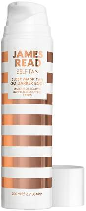 Средство усиливающее загар James Read Self Tan Sleep Mask Tan Go Darker Body 200 мл