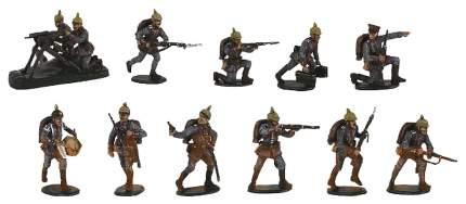 Набор солдатиков масштаб 1/72 Немецкая Пехота Первой Мировой войны 8083 Zvezda