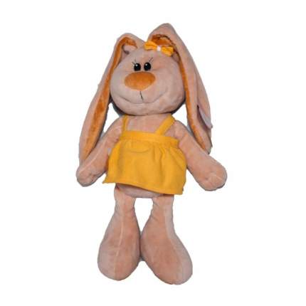 Мягкая игрушка Shantou Gepai Зайка лапочка бежевая 47 см 193