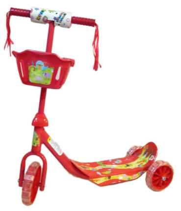 Самокат трехколесный Shantou Gepai 5210 Красный