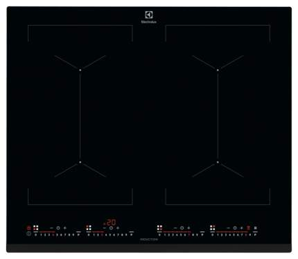 Встраиваемая варочная панель индукционная Electrolux IPE 6474 KF Black