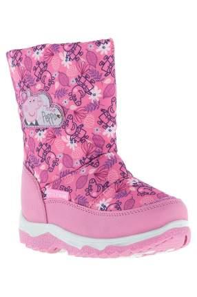 Сапоги детские Peppa Pig, цв.розовый, р-р 25
