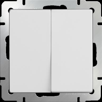 Выключатель Werkel WL01-SW-2G белый