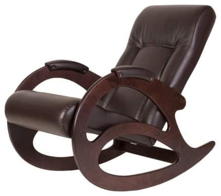 Кресло-качалка Мебелик Тенария 1 1464, коричневый