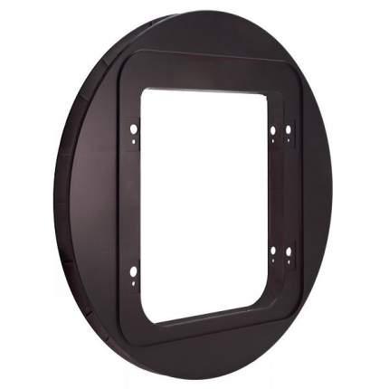 Адаптер крепления TRIXIE SureFlap, коричневый, для стеклянных дверей и отверстий 29,4-32см