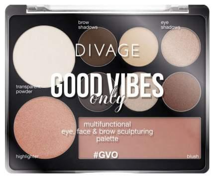 Палетка для контуринга Divage Good Vibes Only №01