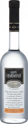 Grappa Le Opere Chardonnay Zanin