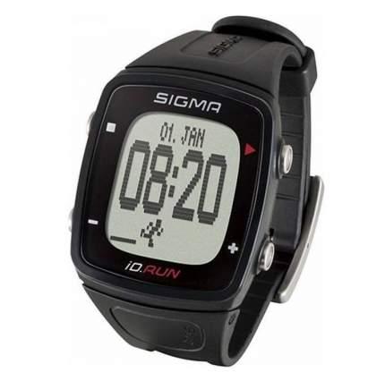Пульсометр Sigma iD.RUN black 24800 черный функций без нагрудного датчика