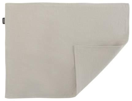 Двухсторонняя салфетка под приборы из умягченного льна бежевого цвета Essential 35х45