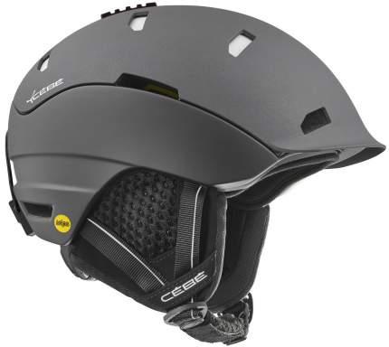 Горнолыжный шлем мужской Cebe Heritage 2019, черный, L