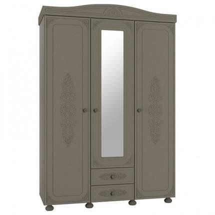 Платяной шкаф Компасс-мебель Ассоль плюс АС-27 KOM_AC27_2_plus 152,8x56,6x223, грей