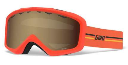 Горнолыжная маска юниорская Giro Grade 2020 Gp Orange/Amber Scarlet