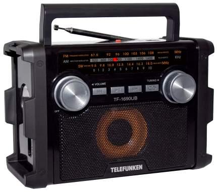 Радиоприемник Telefunken TF-1690UB Black