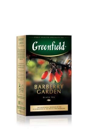 Чай черный Greenfield листовой barberry garden 100 г