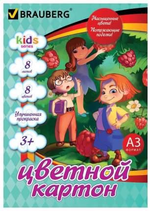 Набор цветного картона Brauberg Веселые человечки 124768