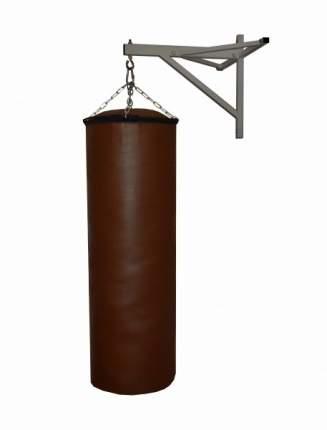 Боксерский мешок РОККИ иск. кожа 150х40 см коричневый 65 кг