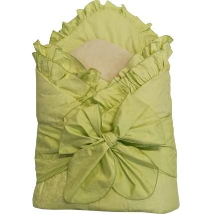 Конверт-одеяло Папитто с завязкой Салатовый 2153