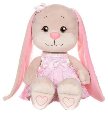 """Мягкая игрушка «Зайка Лин"""" в розовом платье, 25 см Jack and Lin"""