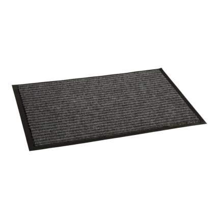 Коврик влаговпитывающий, ребристый 60*90 см. СТАНДАРТ серый, In'Loran арт. 10-694