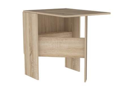 Мини стол-книжка из дерева раскладной Мебельсон Мечта Дуб Сонома