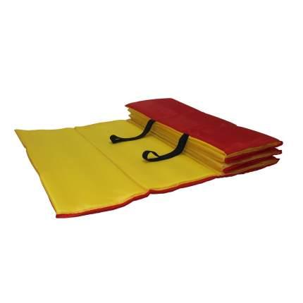 Коврик гимнастический Body Form BF-002 красно-желтый