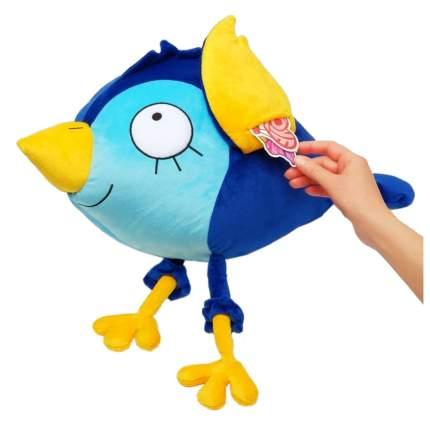 """Мягкая игрушка """"Синяя птица на счастье"""" с кармашками для записочек"""