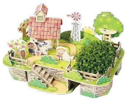"""Картонный 3D-пазл """"Моя чудесная ферма"""" (38 деталей)"""