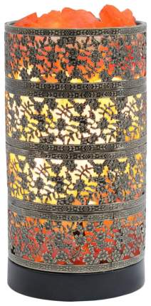 Соляная лампа-камин Stay Gold цилиндр бронза