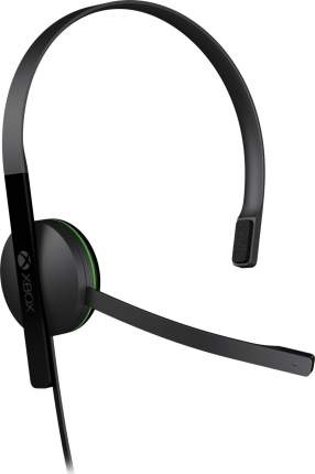 Игровые наушники Microsoft Chat Headset Black (S5V-00015)