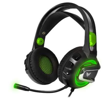 Игровые наушники Crown CMGH-3002 Green