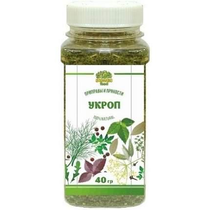 Укроп Organic food зелень сушеная 40 г