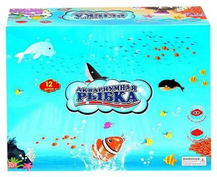 Игрушка для купания Zhorya Аквариумная рыбка Б55970 12 шт