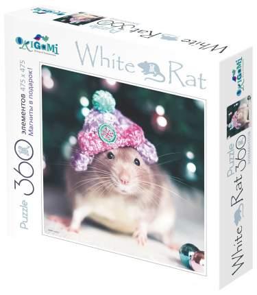 Пазл Оригами White Rat Наряжаем елку 360 элементов