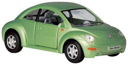 Машина металлическая VW New Beetle, масштаб 1:32, открываются двери, инерция Kinsmart