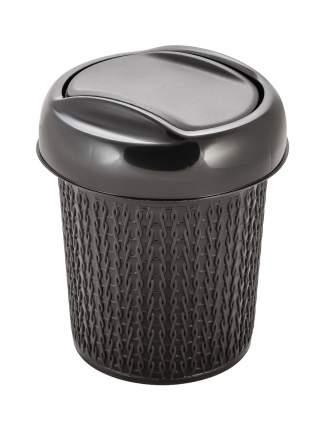 Контейнер для мусора Ajur 12л венге