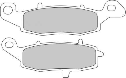 Тормозные колодки передние Ferodo FDB2048P для мотоциклов