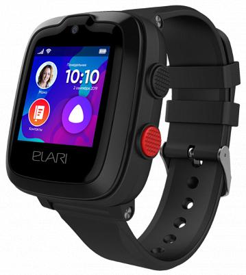 Детские смарт-часы Elari KidPhone 4G Black